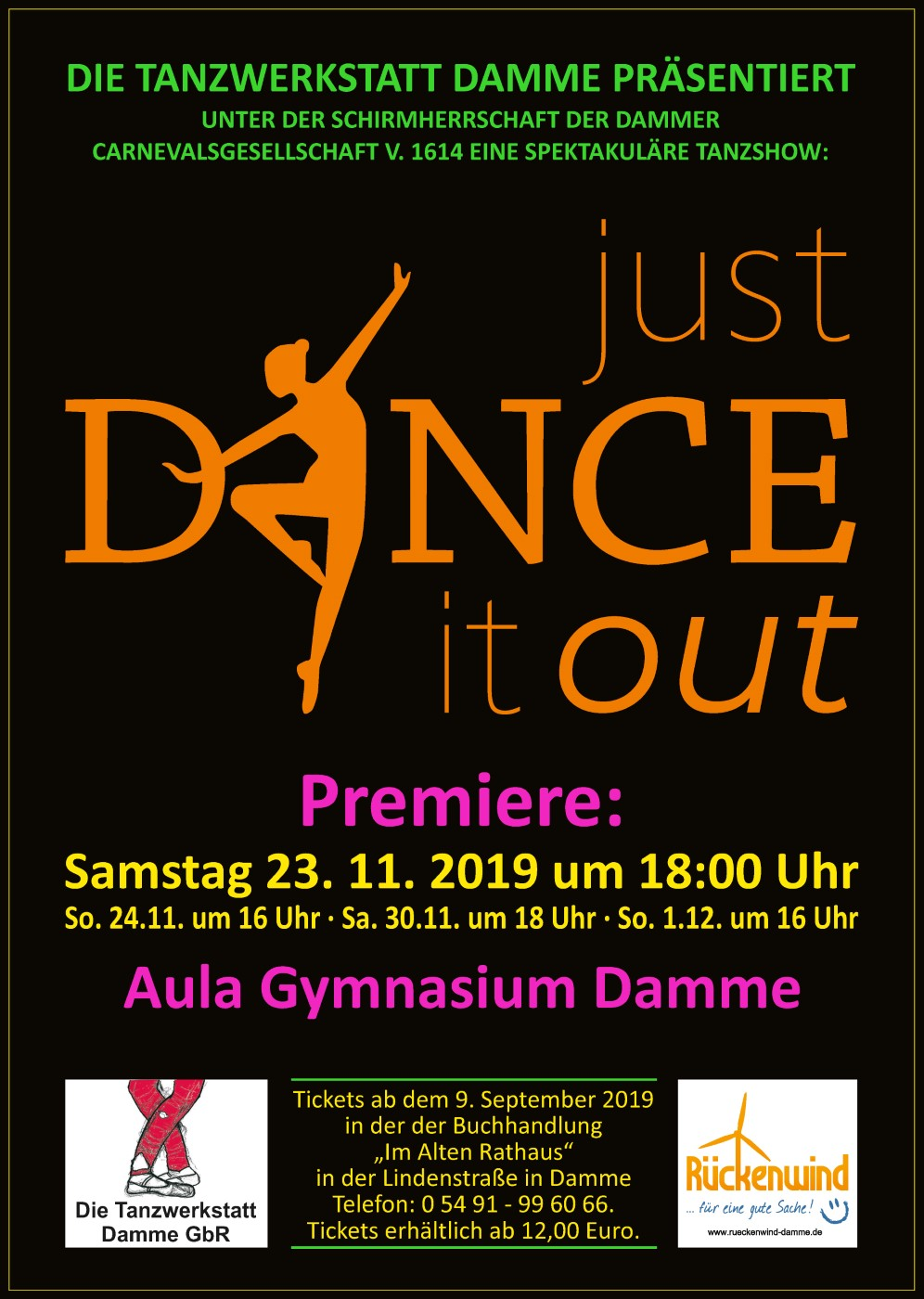 just dance it out plakat